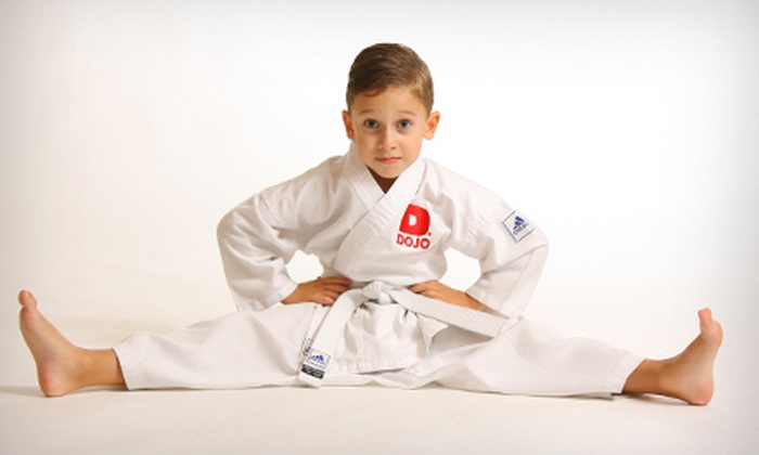 D-Dojo Karate - Midtown Center: One Month of Unlimited or 10 Drop-In Children's Karate Classes at D-Dojo Karate (Up to 86% Off)