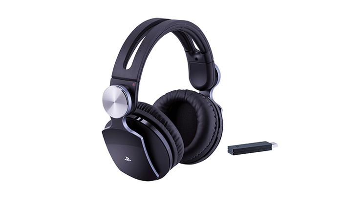 Sony PULSE Elite Wireless Stereo Headset for PlayStation 3 and 4 (Manufacturer Refurbished): Sony PULSE Elite Wireless Stereo Headset for PlayStation 3 and 4 (Manufacturer Refurbished)