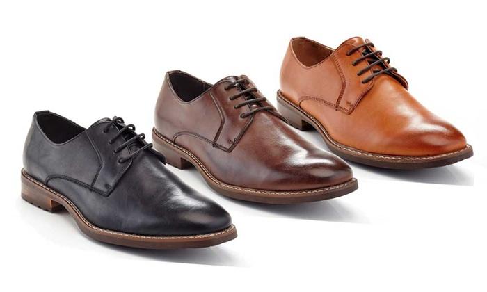Franco Vanucci Men's Casual Oxford Shoes