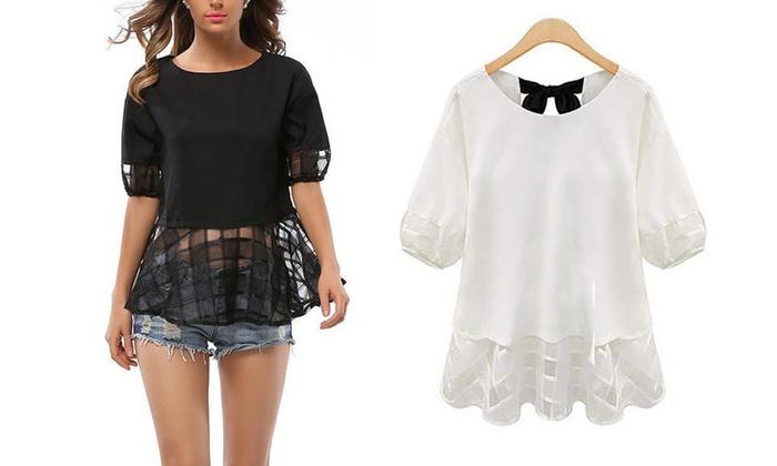 Maglietta a tunica per donna