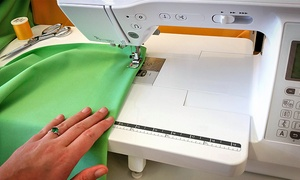 Creative Sewing Center: Beginner and Advanced Sewing Classes at Creative Sewing Center (Up to 50% Off). Four Options Available.