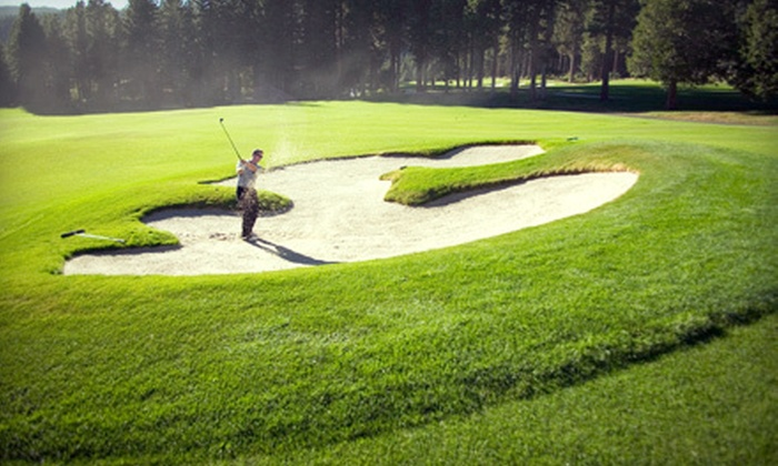 Fort Erie Golf Club - Fort Erie: 18-Hole Golf Outing for Two or Four with Range Balls at Fort Erie Golf Club (Up to 55% Off)