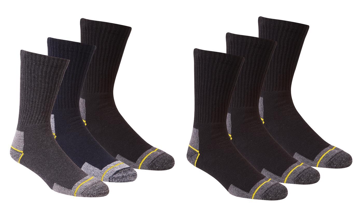 Pack of Six Men's Work Socks