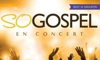 1 place pour le concert So Gospel le 22 avril 2017 à 10 € à léglise Saint-Thomas à La Flèche