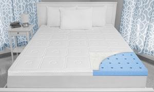 "SensorPEDIC Luxury Extraordinaire 3"" Memory Foam Mattress Topper"