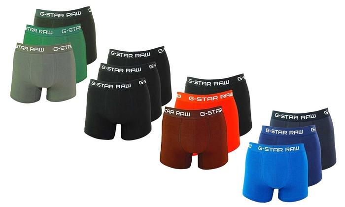 quality design 22094 28a93 Bis zu 33% Rabatt 3-er Pack G-Star Raw Herren-Boxershorts ...