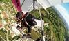 Volo in deltaplano sul Monte Grappa