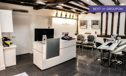 image for Jessica Manicure with a Glass of Bubbly at The Skin Center, Reading (63% Off)