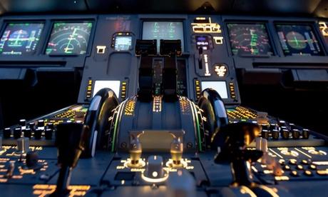 30-120 Min. im Jumbo-Jet Boeing 747 Flugsimulator o. 4 Std. Profigruppenflug mit Aerotask Köln