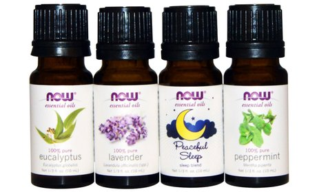 Now Relaxing Essential Oil Set (4-Piece)