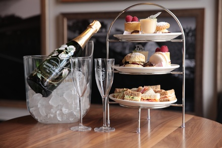 Afternoon Tea for Two or Four with Optional Glass of Bubbles at Falcon Hotel Bridgenorth Up to 46%% Off