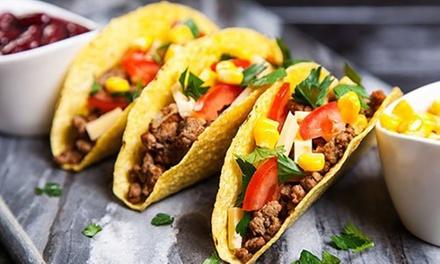 Menu messicano, dolce e sangria