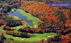 Crumpin-Fox: 18 Holes with Cart and Range Balls for 2 or 4, and Credit to Zeke's Restaurant at Crumpin-Fox (Up to 44% Off)