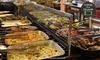 Fogão Nativo - Brasília: Fogão Nativo – Taguatingae SIG: almoço com sobremesa para 1, 2 ou 4 pessoas