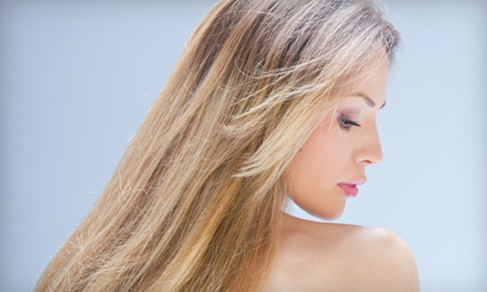 Chocolate For Your Body - Pilsen: Women's Haircut and Blow-dry with Deep Conditioning or Partial Highlights at Chocolate For Your Body (Up to 69% Off)