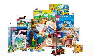 Meine Spielzeugkiste: Wertgutschein für die Spielzeugflatrate bei Meine Spielzeugkiste (bis zu 60% sparen*)