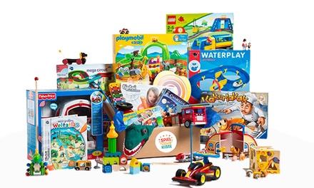 Wertgutschein für die Spielzeugflatrate bei Meine Spielzeugkiste (bis zu 53% sparen*)