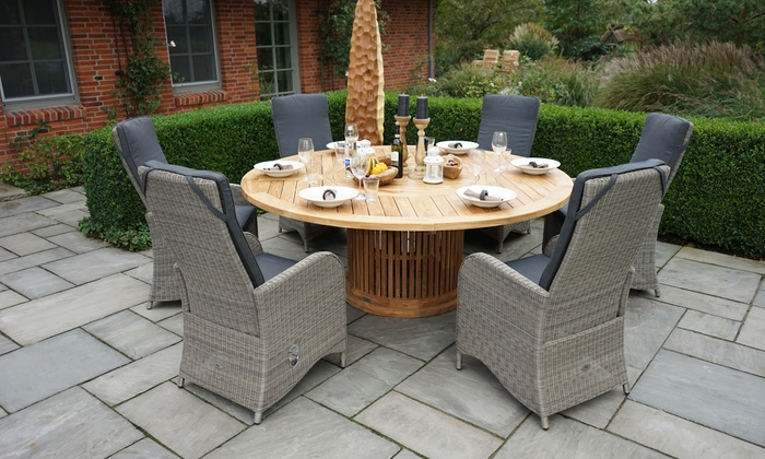 2 polyrattan dining sessel monza groupon goods. Black Bedroom Furniture Sets. Home Design Ideas