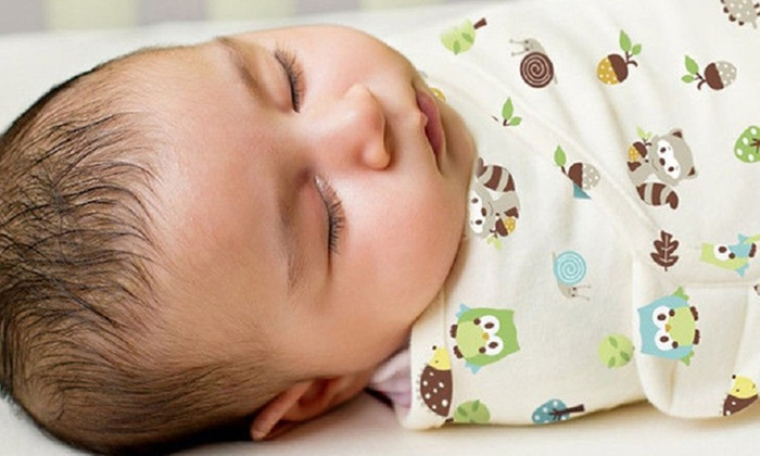 Baby Patterned Sleeping Swaddle from £4.99