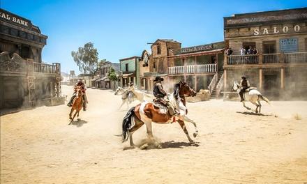 Almería: hasta 3 noches para 2 y opción a niño con desayuno, detalle y entradas a Fort Bravo en Hospedería del Desierto