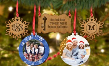 Up to 66% Off Personalized Ornaments from Monogram Online