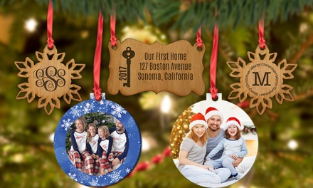 Personalized Ornaments from Monogram Online (Up to 40% Off). Three Options Available.