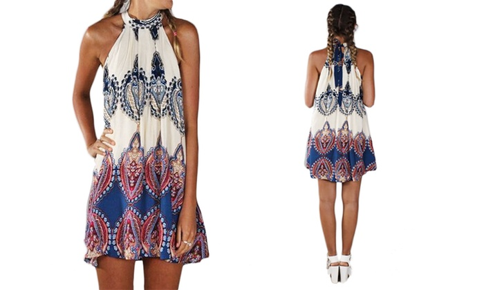 Darcy Halter Dress
