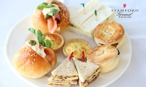 The Promenade Restaurant: High Tea and Sparkling Wine - Two ($49), Four ($95), or Six People ($140) at The Promenade Restaurant (Up to $274 Value)