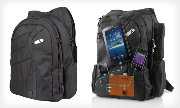 Powerbag Gadget-Charging Bags: Powerbag with Built-in Battery System (Up to 75% Off). Seven Options Available. Free Shipping and Free Returns.