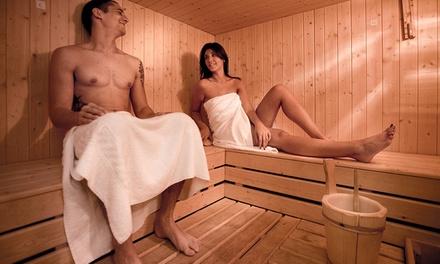 Esclusiva Private spa per 2 con bollicine