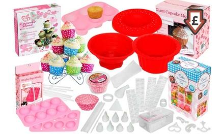 Cake Decorating Kit Groupon : 100-, 204- or 207-Piece Cake Baking and Decorating Set ...