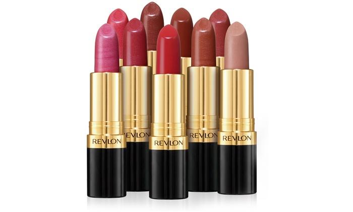 Set of Four Revlon Super Lustrous Lipsticks in Choice of Option (£6.98)