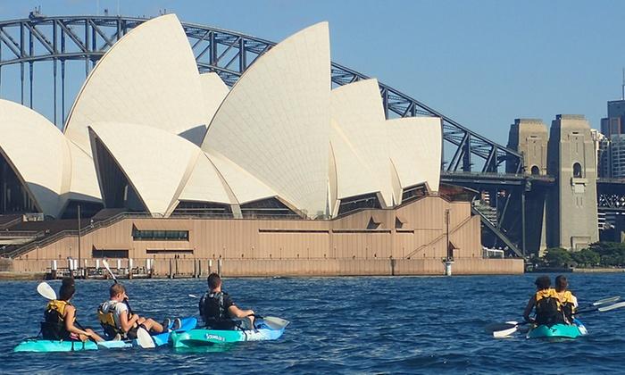 Eagle Rock Adventures - Woolloomooloo: $44 for Sydney Harbour Kayaking with Eagle Rock Adventures (Up to $119 Value)