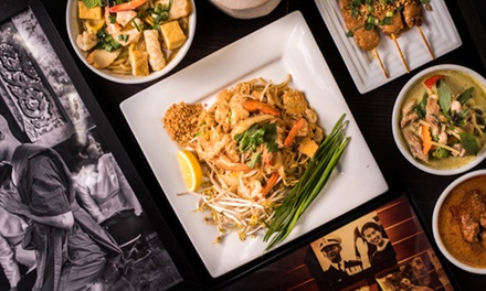 Three-Course Thai Dinner with Drinks for 2 ($39), 4 ($76) or 6 People ($110) at Ruean Thai Cuisine (Up to $246.90 Value)