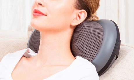 Aparato de masaje Shiatsu Silvano con función de calor para aliviar el dolor de espalda