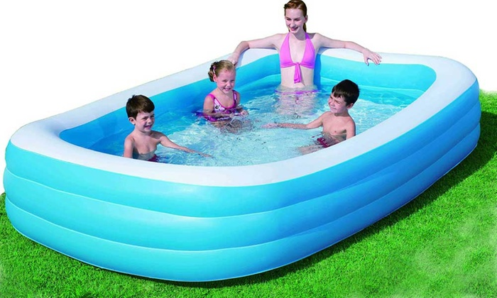 Piscina gonfiabile bestway groupon goods for Modelli di piscina