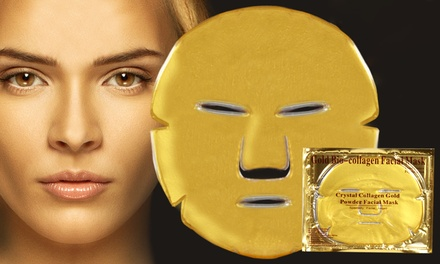 Up to 60 Collagen Eye, Neck, Lips or Face Masks