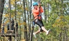 Eco Zipline Tours - Hermann: 30- or 45-Minute Zipline Tour with Frequent Flyer Card from Eco Zipline Tours (50% Off)