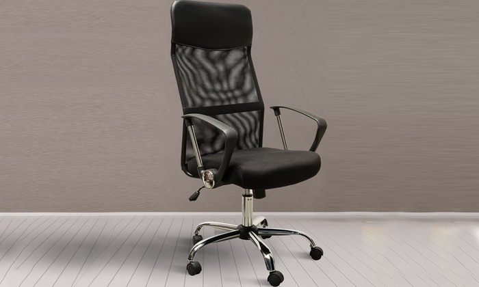 HomCom Swivel Executive Office Chair or Carpet Protector