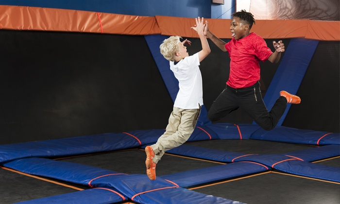 photograph about Sky Zone Printable Coupons identified as Sky Zone Cerritos - Up Towards 36% Off - Cerritos, CA Groupon