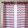 Lavish Home Sonya Grommet Curtain Panels