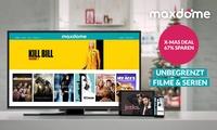 3 oder 6 Monate maxdome Paket Filme & Serien (67% sparen*)