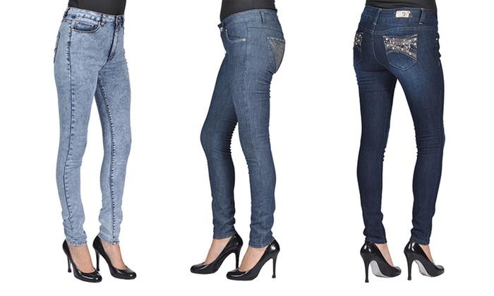 Junior Women's Fashion Skinny Jeans