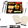BBQ Grill Set with Grilling Accessories (8-Piece)