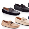 Marco Vitale Men's Buckle Driving Loafers