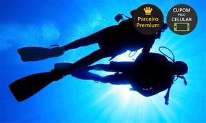 Submarine Escola de Mergulho: Submarine – Praia da Sepultura: mergulho com cilindro, equipamento completo, instrutor e embarcação