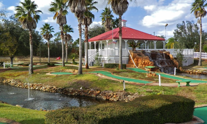 Fun Zone - Spring Hill: Mini Golf, Batting Cages, Arcade Tokens, and Ice Cream for Two or Four at Spring Hill Fun Zone (Up to 50% Off)