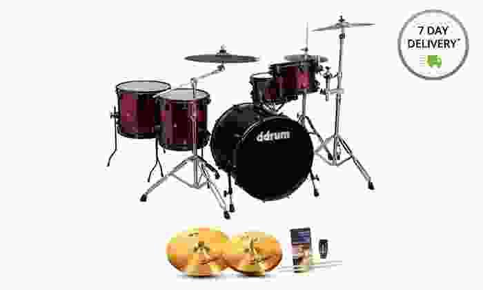 ddrum Journeyman 5-Piece Drum Sets: ddrum Journeyman 5-Piece Drum Sets. Multiple Configurations Available. Free Returns.
