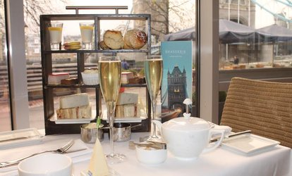 image for Afternoon Tea with Optional Sparkling Wine or Champagne for Two at The Tower Hotel (50% Off)