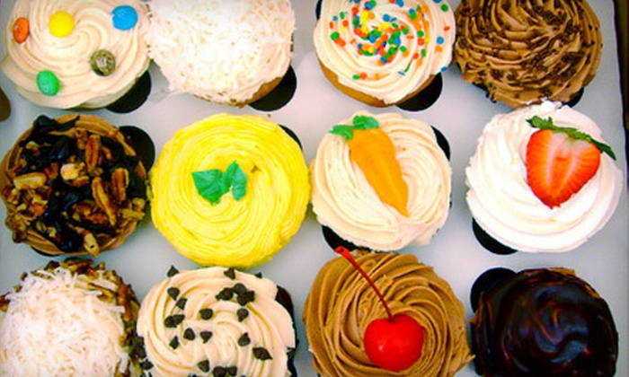 A&J Bakery and In the Mix Bakery - Multiple Locations: One or Two Dozen Cupcakes at A&J Bakery or In the Mix Bakery (Up to 52% Off)